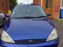 Ford Focus ST170, 2004 (04) Blue Hatchback, Manual Petrol, 98,152 miles