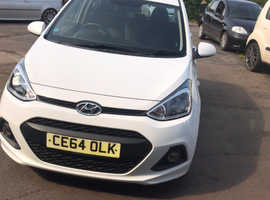 Hyundai i10, 2014 (64) White Hatchback, Manual Petrol, 13,800 miles