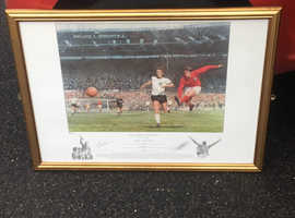 """Rob Hurst signed print. """"They think it's all over, it is now."""
