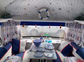 Lovely immaculate re vamped 2 berth Jubilee ace Diplomat Caravan
