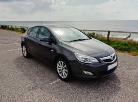 Vauxhall Astra, 2012 (12) Grey Hatchback, Manual Petrol, 69,100 miles