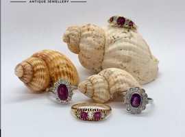 Friarhouse.com : Engagement Rings London | Three Stone Diamond Ring London | Vintage Inspired Engagement Rings London