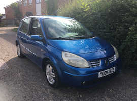 Renault Megane, 2004 (04) Blue MPV, Manual Petrol, 90,000 miles