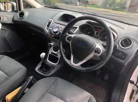 Ford Fiesta, 2011 (61) White Hatchback, Manual Diesel, 106,000 miles