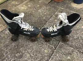 Bauer turbo skates retro quads,all original,pro 8 plates.