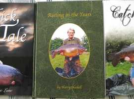 3 BRAND NEW CARP FISHING BOOKS BY DAVE LANE,  HARRY HASKELL AND JERRY HAMMOND