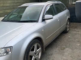 Audi A4, 2002 (02) Silver Estate, Manual Diesel, 169,000 miles