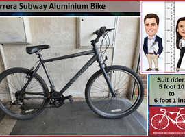 Carrera Subway Aluminium Bike. 21 speed. 26 inch wheels.