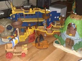 Jake pirates full set