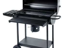 Deluxe Full Size Oil Drum BBQ Barbeque Barbecue Smoker - BRAND NEW