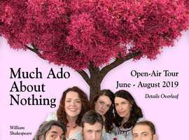 'William Shakespeare's' much loved brilliant comedy 'Much Ado About Nothing'.