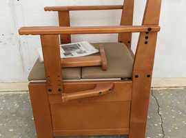 Modern wooden commode.   Free