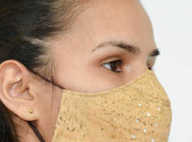 Cork Antibacterial facial mask