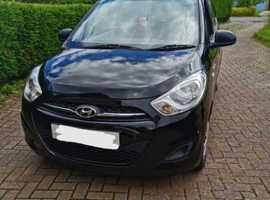Hyundai i10, 2011 (11) Black Hatchback, Manual Petrol, 32,000 miles
