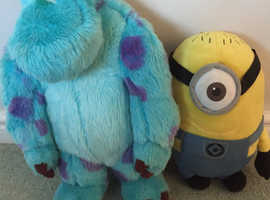 Disney Sully and Minnion Soft Toys