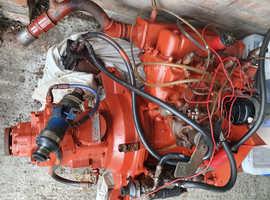 Marine engine and gearbox.
