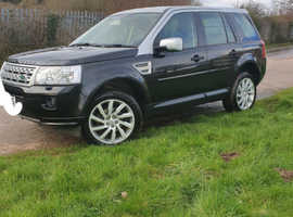 Land Rover Freelander, 2010 (60) Black Estate, Manual Diesel, 107,000 miles
