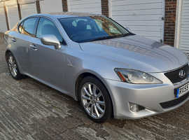 2006 lexus is 250 autamatic  saloon history leather sat-nav reversing camera  6 months warranty