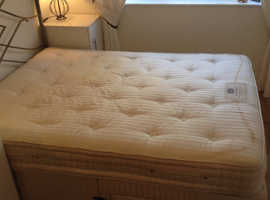 King size bed in excellent quality but needs a little cleaning