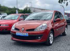 Renault Clio, 2006 (06) Red Hatchback, Manual Petrol, 63,000 miles