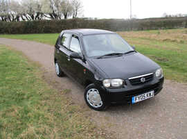 Suzuki Alto, 2005 (05) Black Hatchback, Manual Petrol, 45,524 miles