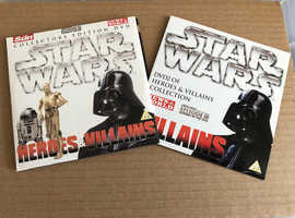 Star Wars Heroes and Villains Collectors Edition DVDs