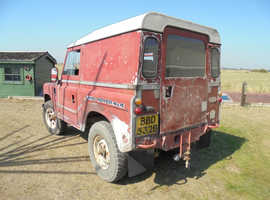 SERIES 3  DIESEL (2 1/4litre) REBUILT :      HISTORIC (FREE) ROAD TAX & MOT EXEMPT