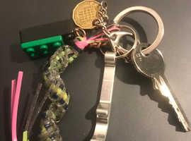 Found these keys