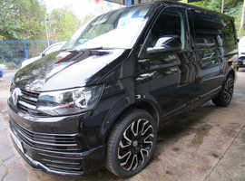 2017/17 VW TRANSPORTER T28 T6 5 SEATER KOMBI WITH BRAND NEW LEATHER INTERIOR