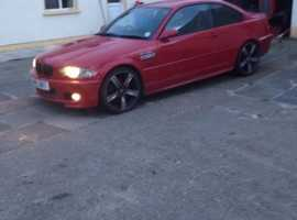 BMW 3 Series, 2001 (Y) Red Coupe, Manual Petrol, 13,000 miles