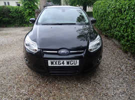 LOW ROAD TAX Ford Focus 1.6 TDCi TITIANIUM X  5DR  2014 (64)