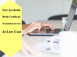 Get Accurate Birth Certificate Translation Service At Low Cost
