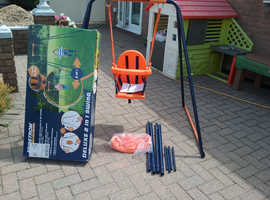 Nearly new Hedstrom 2 in 1 children's swing