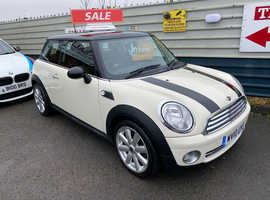 2010 10 Mini Cooper in old english white just arrived just 46974 miles