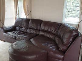 FREE MUST COLLECT/LEATHER SUITE