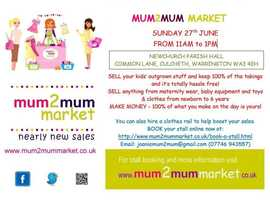 Sell Your Nearly New Baby & Kids Clothes & Toys at s Mum2Mum Market