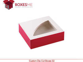 Make your life easy with our Custom Die Cut Boxes