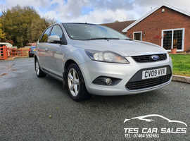 Ford Focus, 2009 (09) Silver Hatchback, Manual Petrol, 60,471 miles