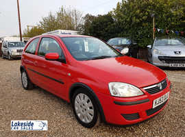 Vauxhall Corsa 1.2 Litre 3 Door Hatch, New MOT (No Advisories), Service History, Cheap Insurance.