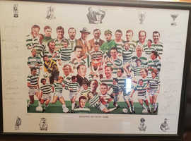 Legends Of Celtic Park Framed Picture