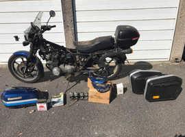 Kawasaki z550 project bike