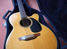 Takamine Semi Acoustic Guitar