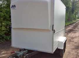 For sale twin axle 8x4 box trailer