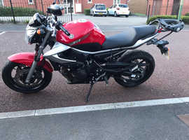 Yamaha XJ6N - Red in Stunning Condition Only 2216 miles from new!