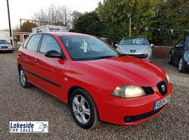 Seat Ibiza, 2004 (04) Red Hatchback, Manual Petrol, 100,998 miles