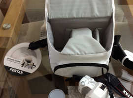 Unwanted gift Never Used - White Pentax KS1