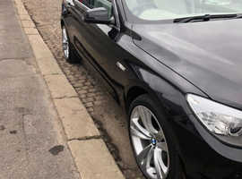 BMW 5 Series, 2010 (60) Black Hatchback, Automatic Diesel, 109,000 miles