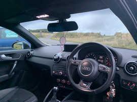Audi A1, 2012 (12) Black Hatchback, Semi auto Petrol, 59,500 miles