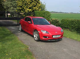 Mazda RX-8, 2006 (55) Red Coupe, Manual Petrol, 64,500 miles