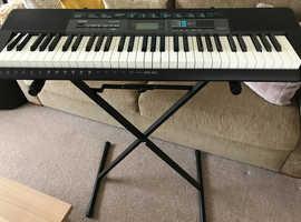 Casio Keyboard & Stand